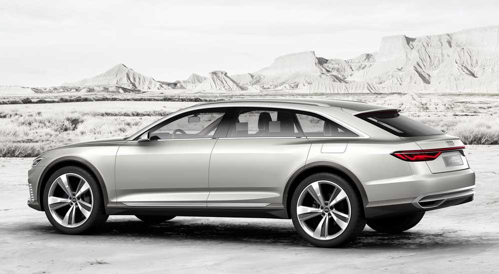 Audi Prologue Allroad με 743 υβριδικά άλογα