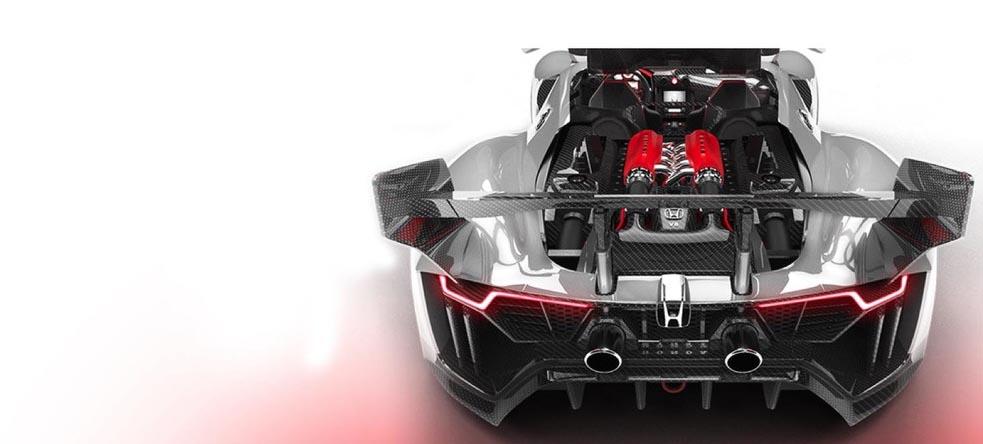 Φανταστικό το honda invisus 2020 με σούπερ v8 κινητήρα!
