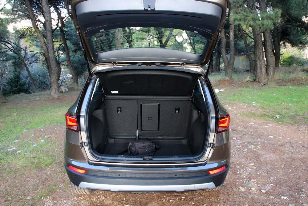 seat ateca 1 6 tdi test drive. Black Bedroom Furniture Sets. Home Design Ideas