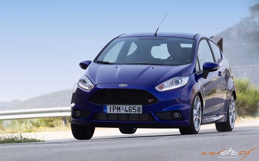 ford fiesta st test drive. Black Bedroom Furniture Sets. Home Design Ideas