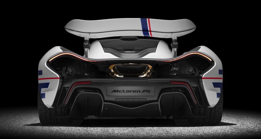 Μία McLaren P1 με το όνομα του Alain Prost