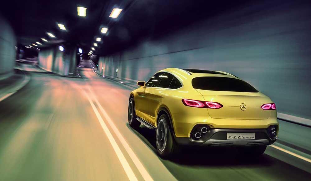 Mercedes-Benz GLC Coupe Concept και επισήμως