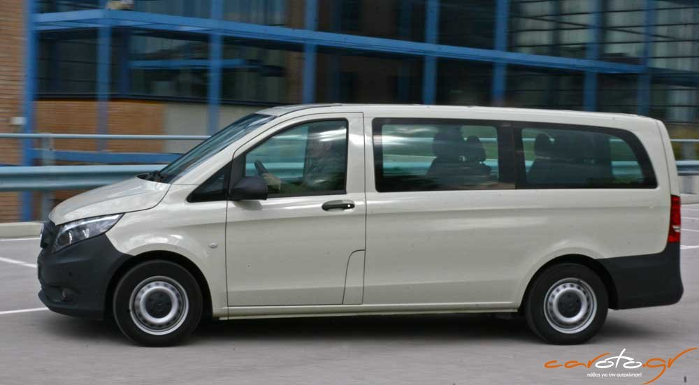Mercedes benz vito tourer 111 test drive for Mercedes benz vito tourer