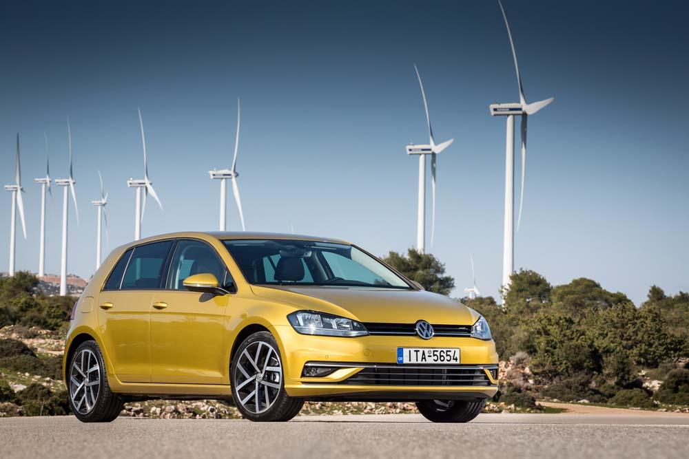 new Volkswagen Golf TSI 110PS caroto test drive 2017 (1)