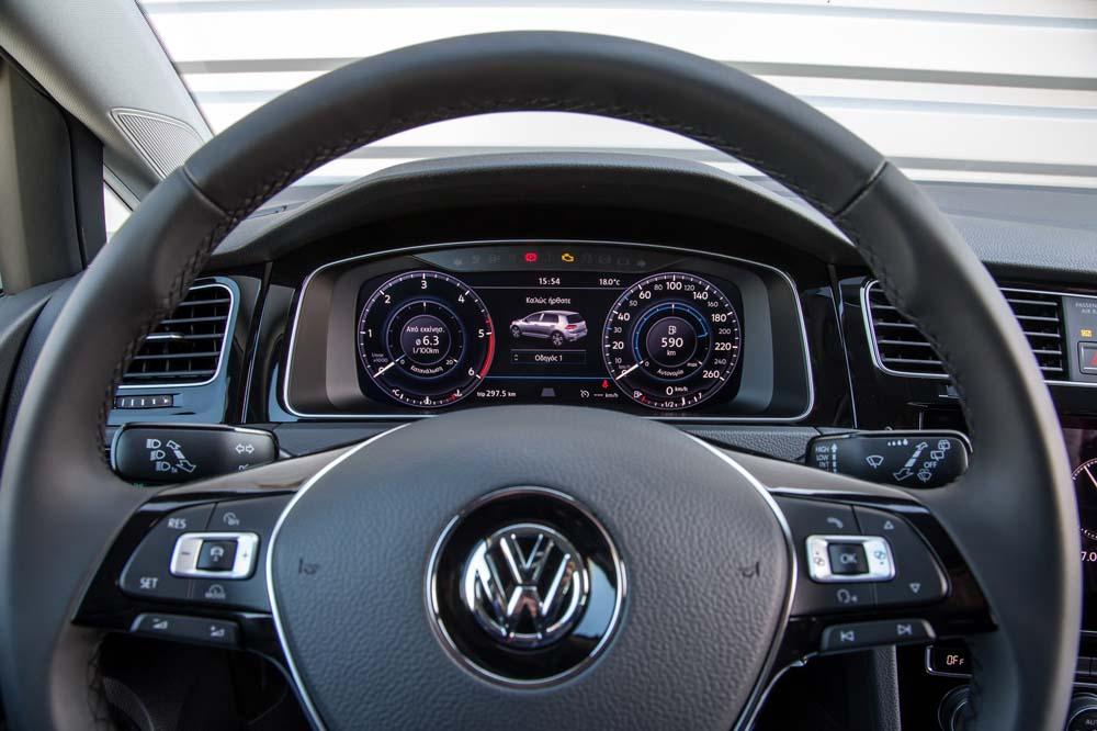new Volkswagen Golf TSI 110PS caroto test drive 2017 (15)