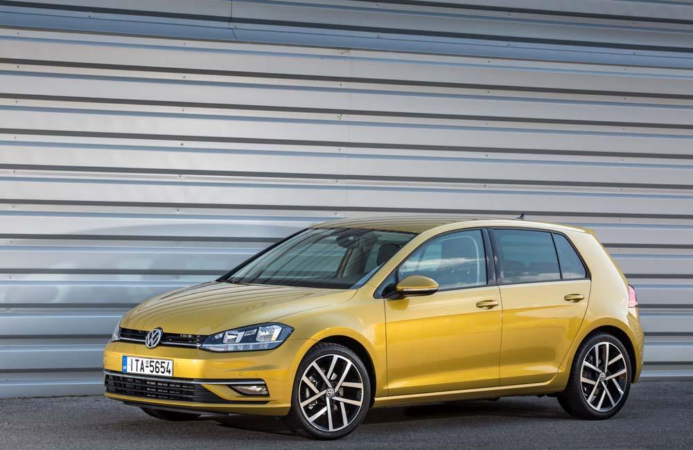new Volkswagen Golf TSI 110PS caroto test drive 2017 (2)