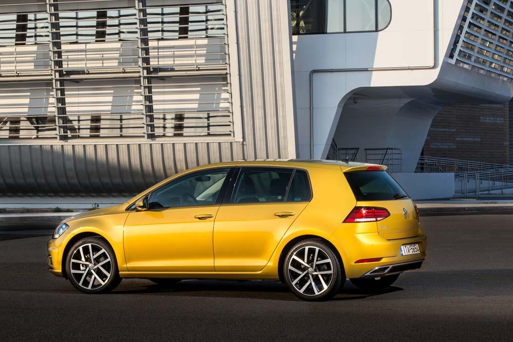 new Volkswagen Golf TSI 110PS caroto test drive 2017 (4)
