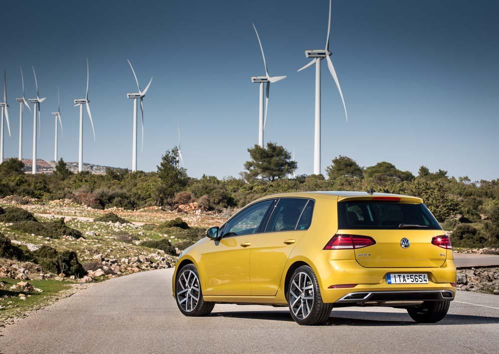 new Volkswagen Golf TSI 110PS caroto test drive 2017 (6)