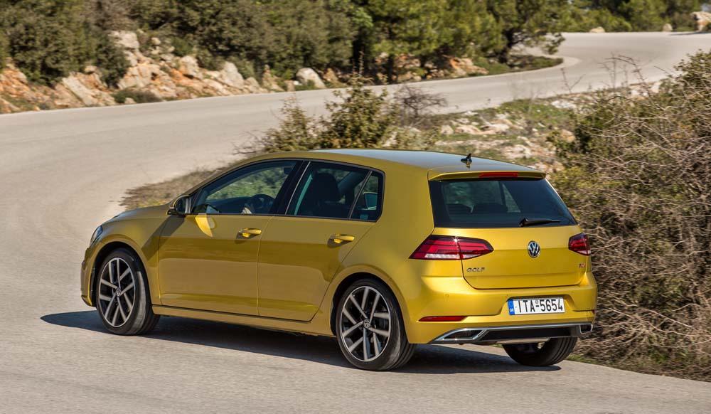new Volkswagen Golf TSI 110PS caroto test drive 2017 (7)