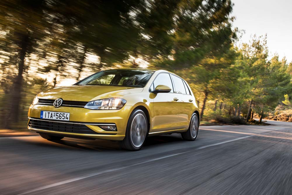 new Volkswagen Golf TSI 110PS caroto test drive 2017 (9)
