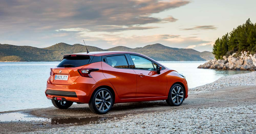 All-New Nissan Micra - Energy Orange