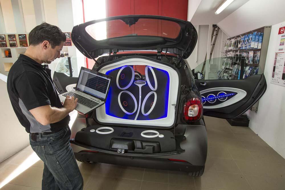 Ένα Smart ForTwo με 5.720 watts!