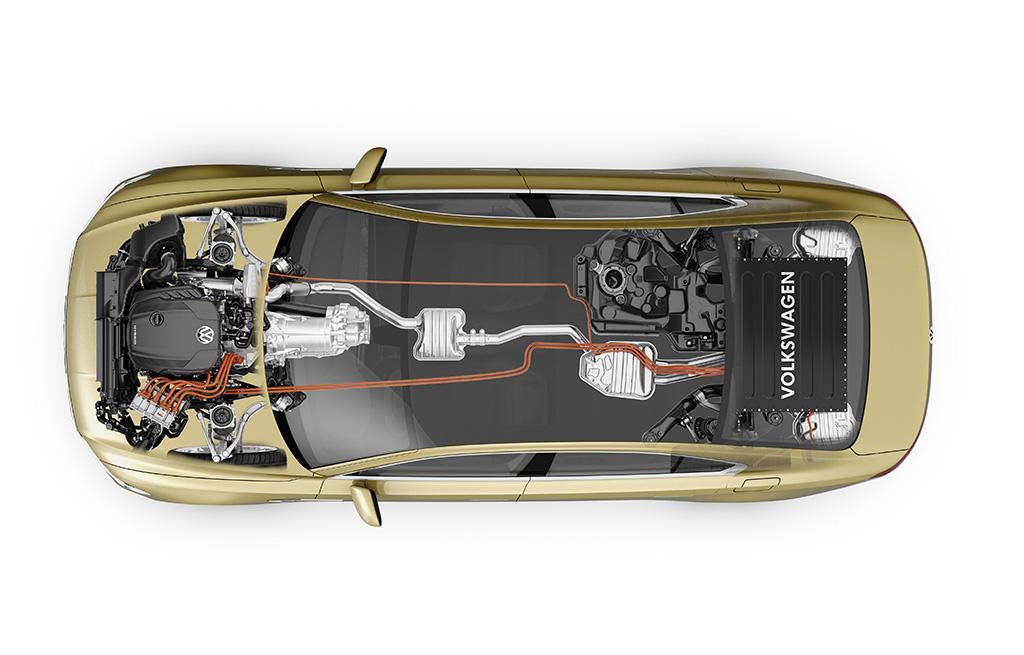 Το VW C Coupe GTE πυξίδα για το νέο Phaeton