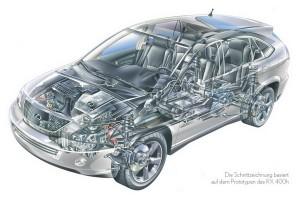 Lexus RX400h: Ήπια δύναμη!