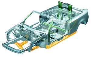 Πλαίσιο από Audi A4 Cabriolet