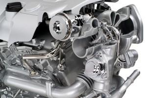 2006 2.8L V-6 Turbo (LP9) Cutaway Display Engine