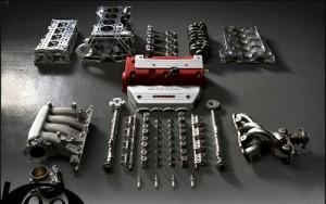 Ο κινητήρας του Honda Civic Type-R