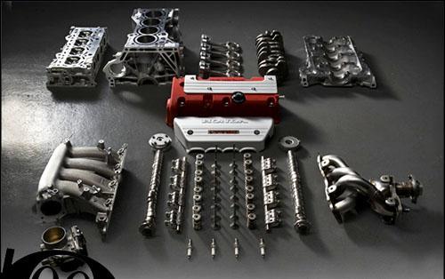 Photo of Ο κινητήρας του Honda Civic Type-R