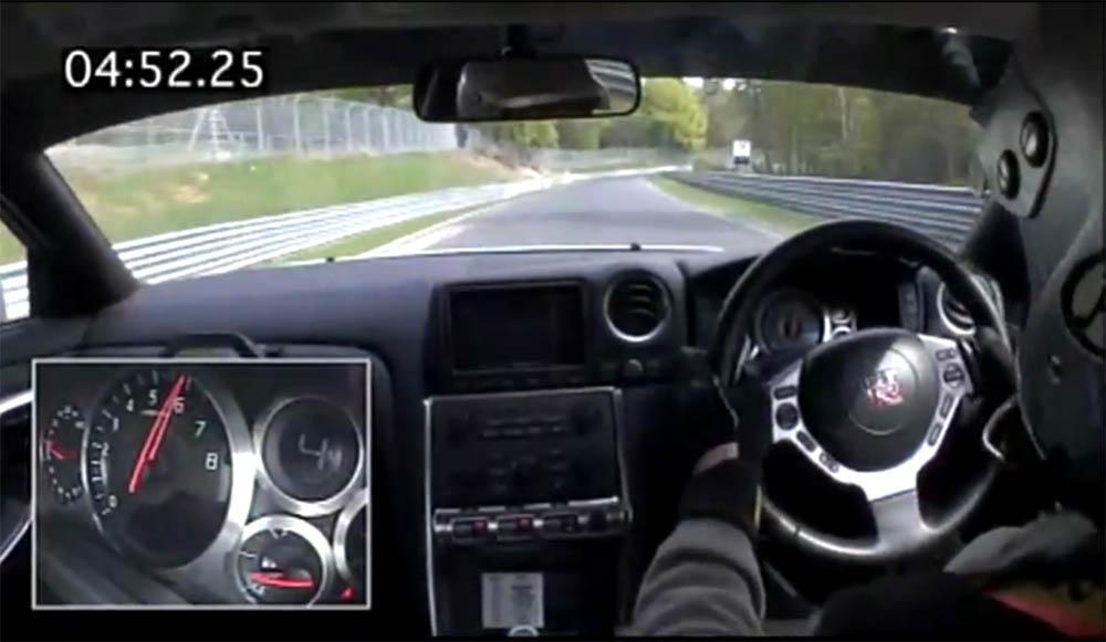Photo of Ένα γύρο με το Nissan GT-R στο Nurburgring