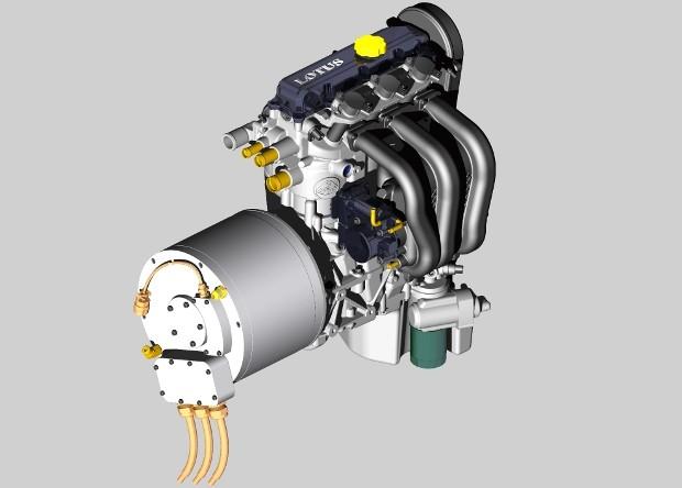 Photo of Μονομπλόκ κινητήρας από την Lotus