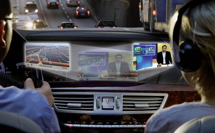 "Photo of ""Δίπλανη"" οθόνη στη νέα Mercedes-Benz S-Class"