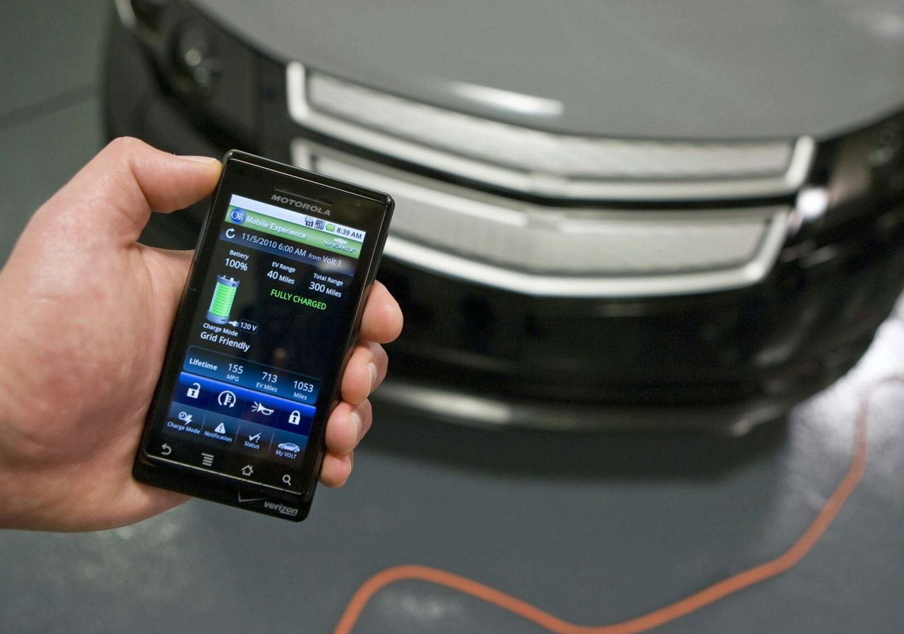 "Photo of To Chevrolet Volt ""μιλά"" με τα Smartphone!"