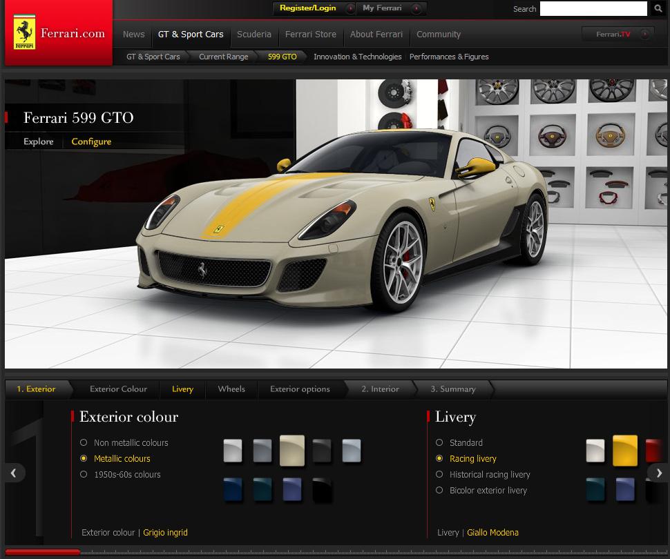 Photo of Ferrari 599 GTO, όπως ακριβώς την θέλεις!
