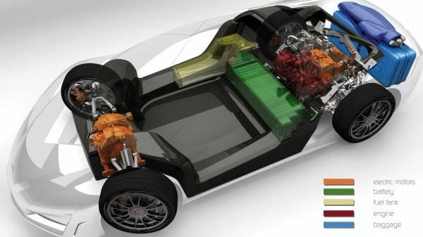 To Namir είναι υβριδικό και εξοπλίζεται με περιστροφικό κινητήρα (Wankel) χωρητικότητας 814 cc. Μπορεί να διανύσει 39 km με κάθε λίτρο αμόλυβδης ενώ οι εκπομπές CO2 περιορίζονται στα 60 g/km. Με 50 λίτρα ρεζερβουάρ και την αυτονομία που δίνουν οι μπαταρίες το Namir μπορεί να ταξιδέψει για περισσότερα από 2.000 km!