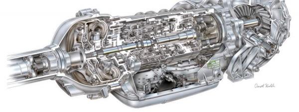 2004 Hydra-Matic 5L.50-F. Transmission