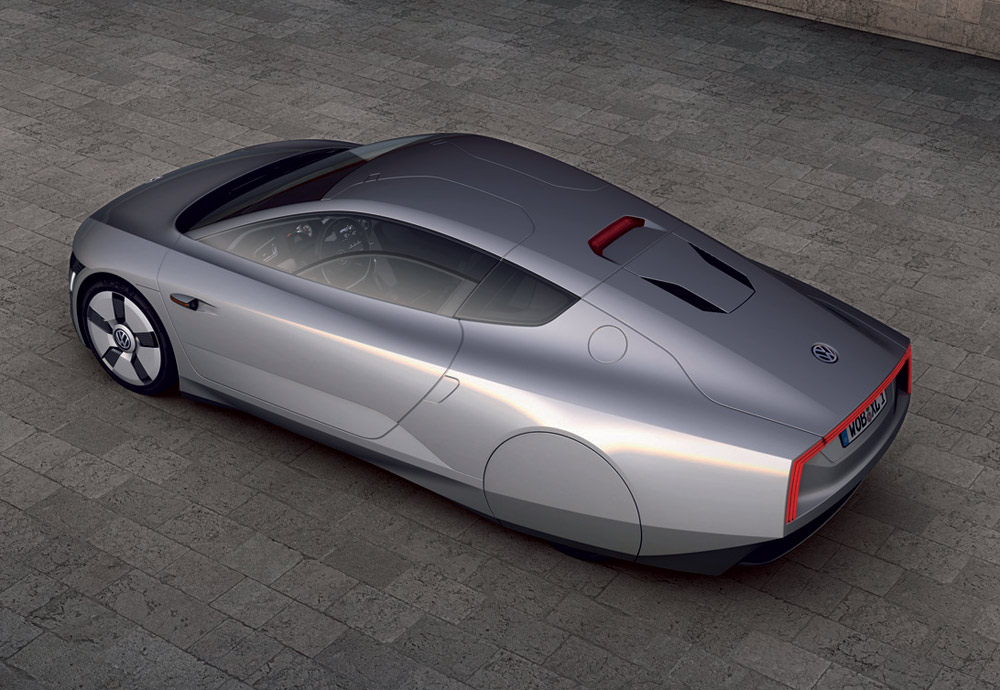 Photo of VW XL1 Concept: 10 lt ντίζελ για 550 km!