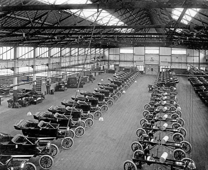 Photo of Φλας: η γραμμή παραγωγής του Ford Model T
