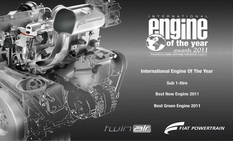 Photo of International Engine of the Year 2011 ο Twinair της Fiat Auto