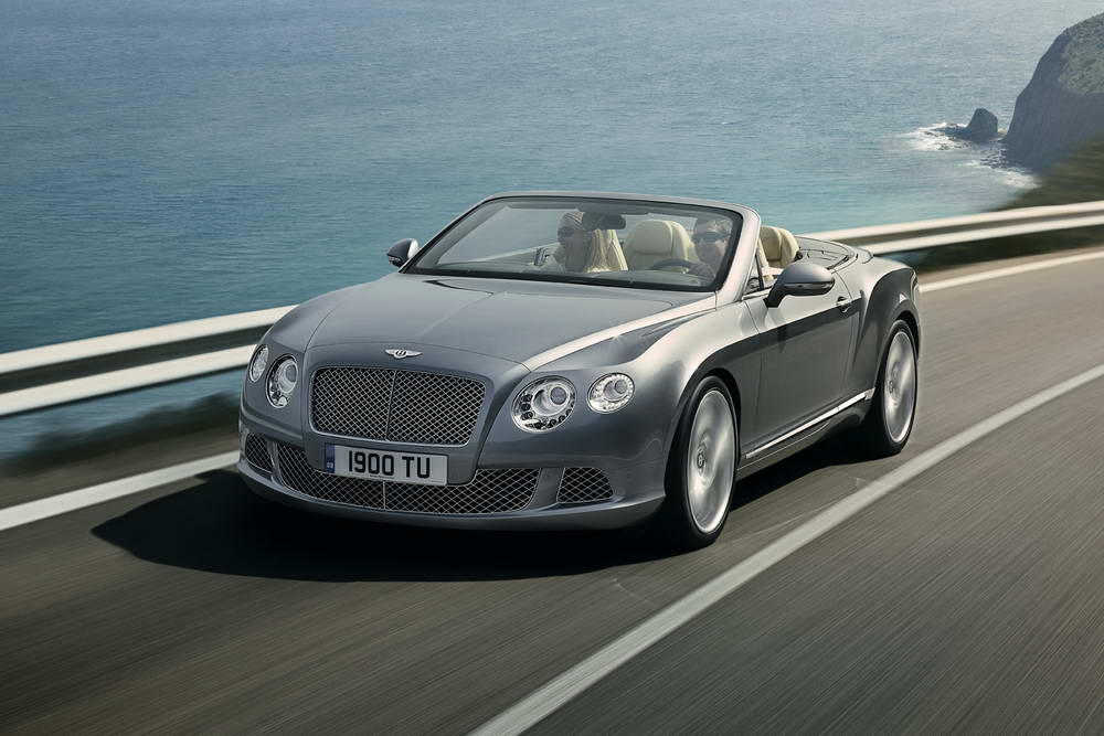 Photo of Bentley Continental GTC 2012 [vid]