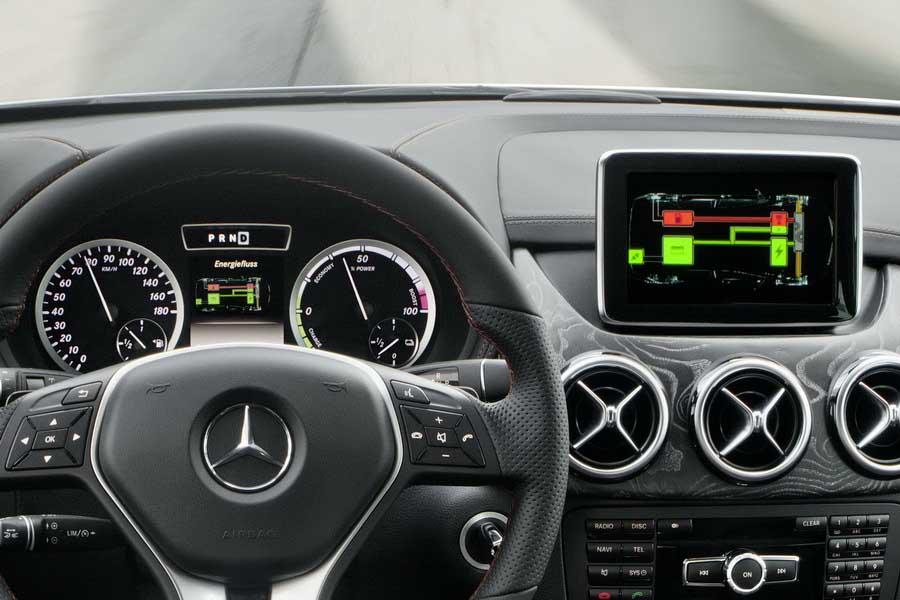 Photo of Mercedes-Benz Concept B-Class E-CELL PLUS [vid]