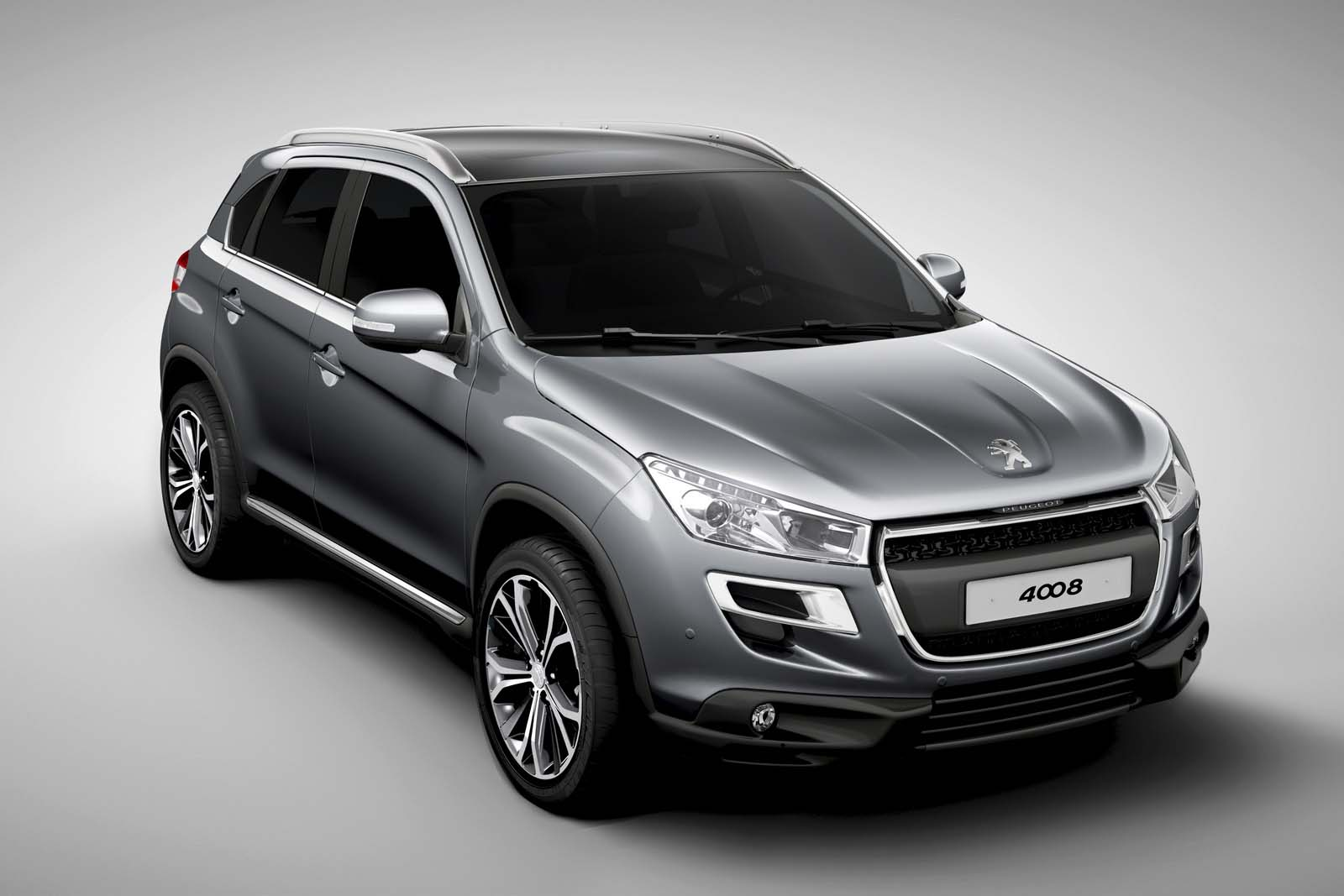 Photo of Peugeot 4008 & Citroen C4 Aircross [new models]