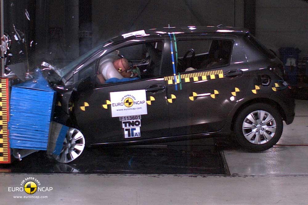 Photo of Toyota Yaris 2012 [EuroNCAP]
