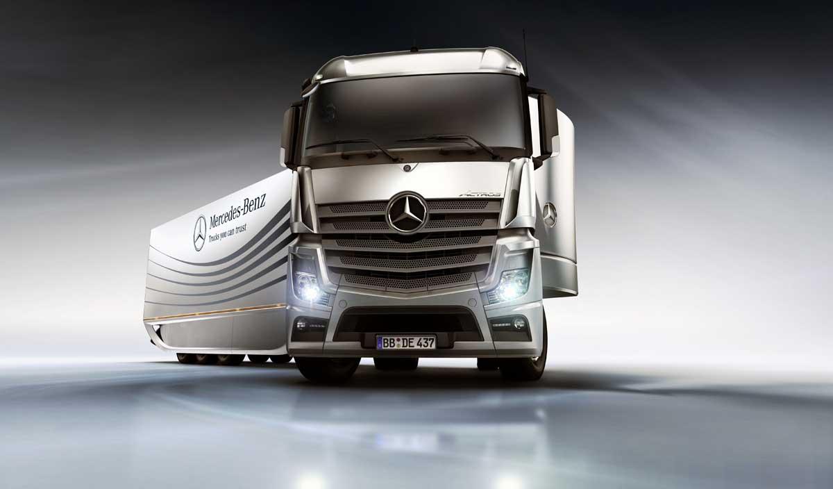 Photo of Mercedes-Benz Aero Trailer