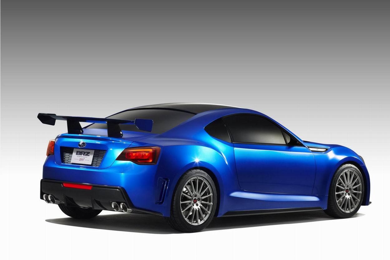 Photo of Subaru BRZ Concept STI [concept car + video]