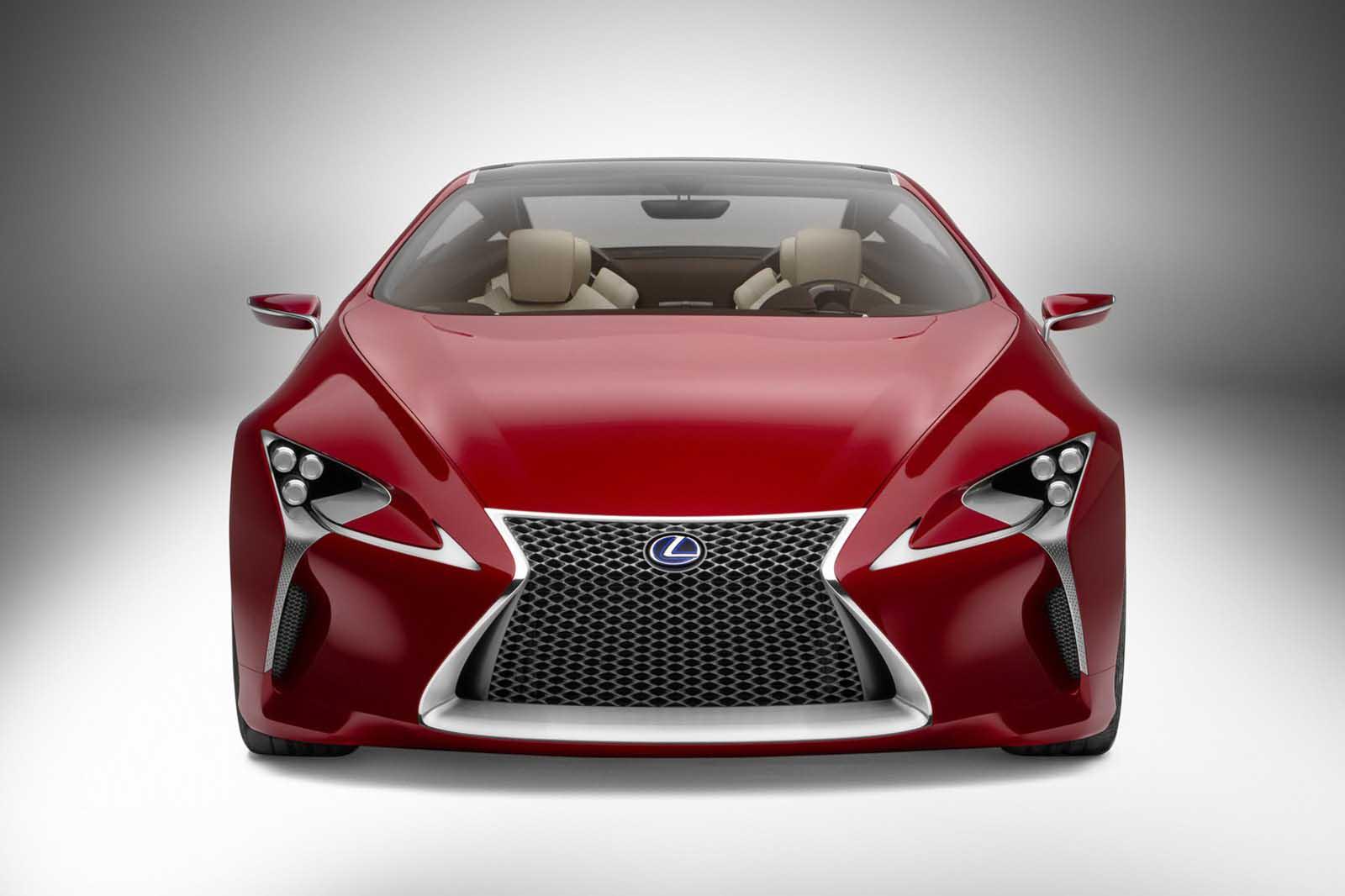 Photo of Lexus LF-LC Sports Coupe Concept [vid]