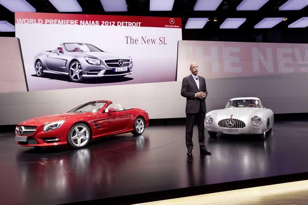 Photo of Mercedes-Benz SLK & E-Hybrid [Detroit Auto Show]