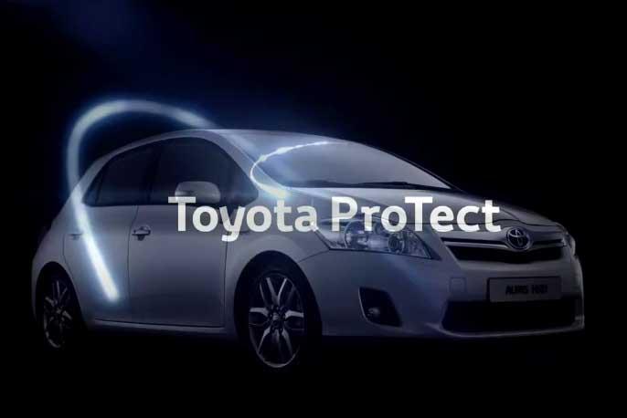 "Photo of Η Τoyota παρουσιάζει τα προϊόντα ""Toyota ProTect"""