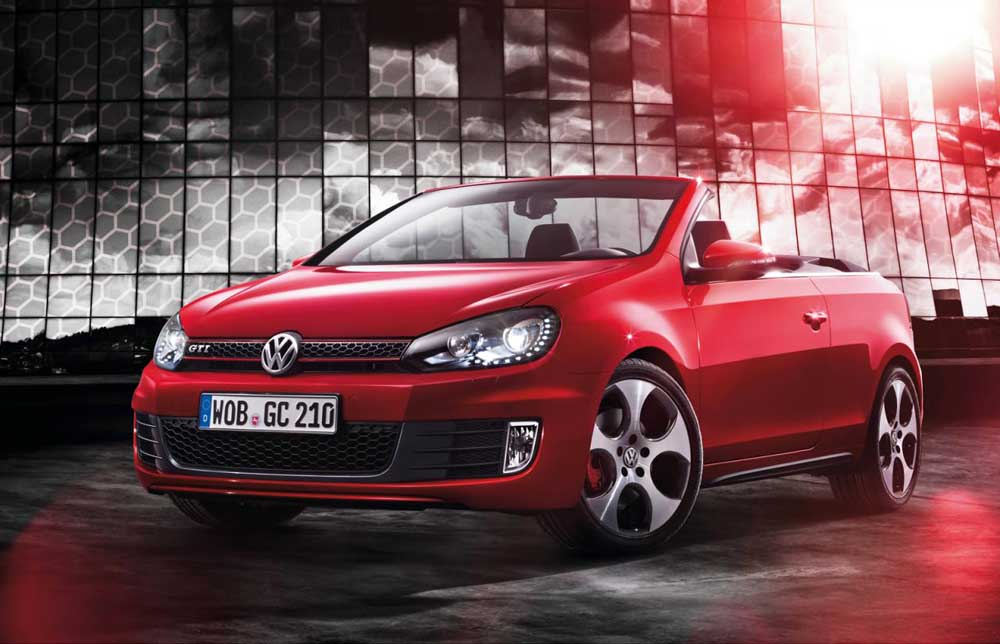 Photo of VW Golf GTI Cabriolet [new model]