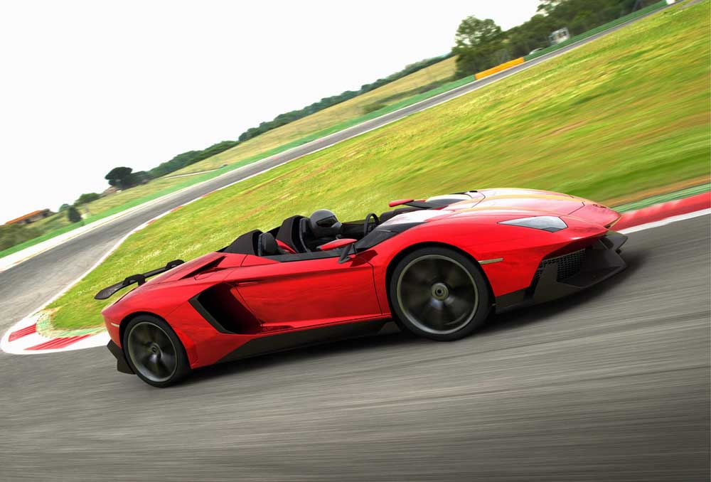 Photo of Lamborghini Aventador J [concept]
