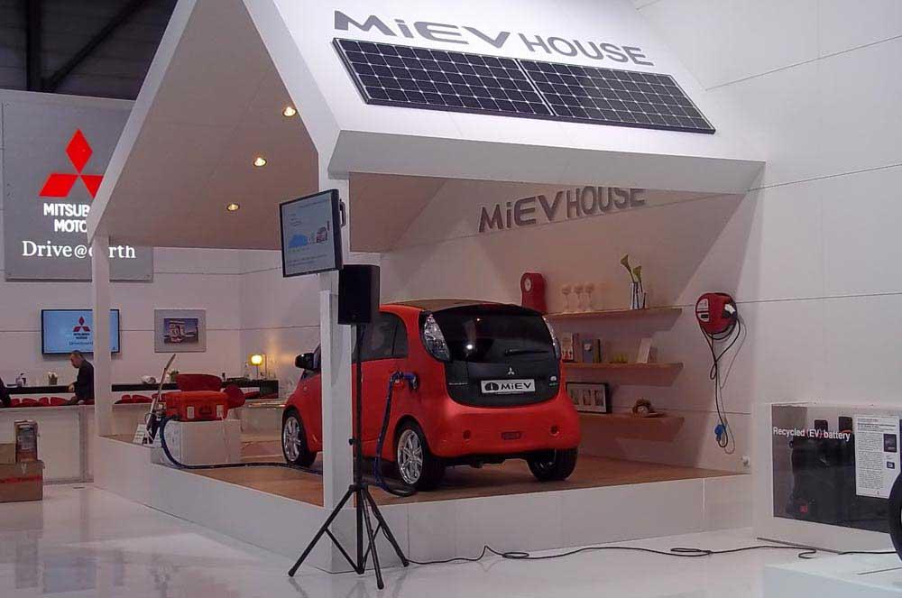 Photo of Mitsubishi MiEV House, η επόμενη ιδέα