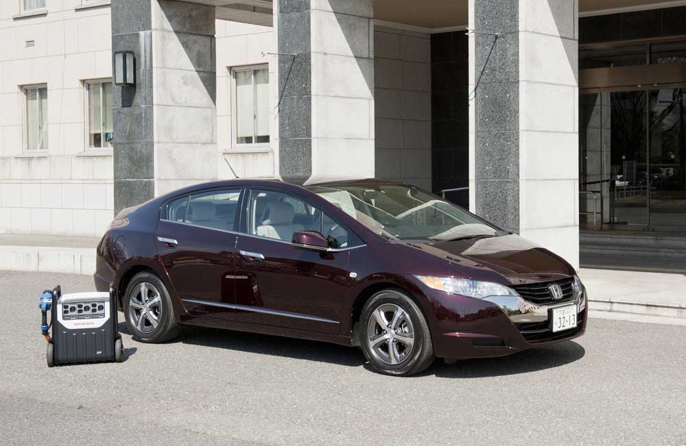 Photo of Honda FCX Clarity, σε ρόλο κινητής γεννήτριας ηλεκτρισμού!