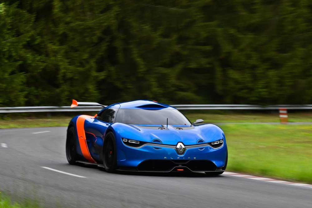 Photo of Renault Alpine A110-50 [concept+vid]