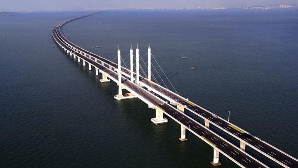 Photo of Jiaozhou Bay Bridge, η μεγαλύτερη γέφυρα στον κόσμο!