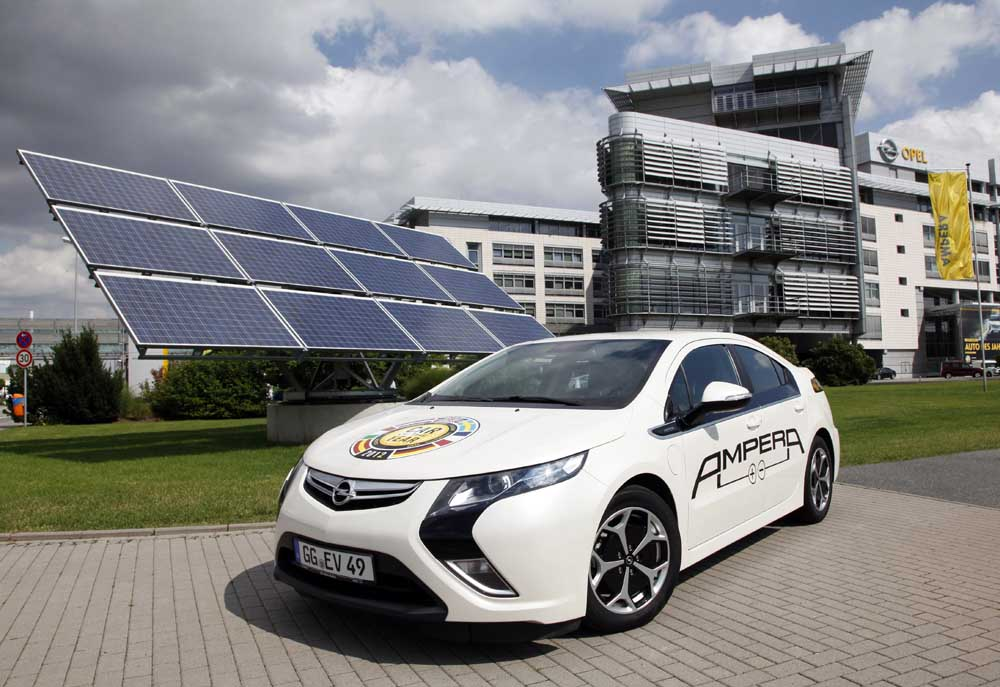 Photo of Opel, παραγωγή με τη συμβολή ηλιακής ενέργειας
