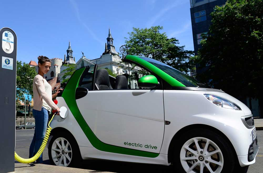 Photo of smart fortwo electric drive [first drive]