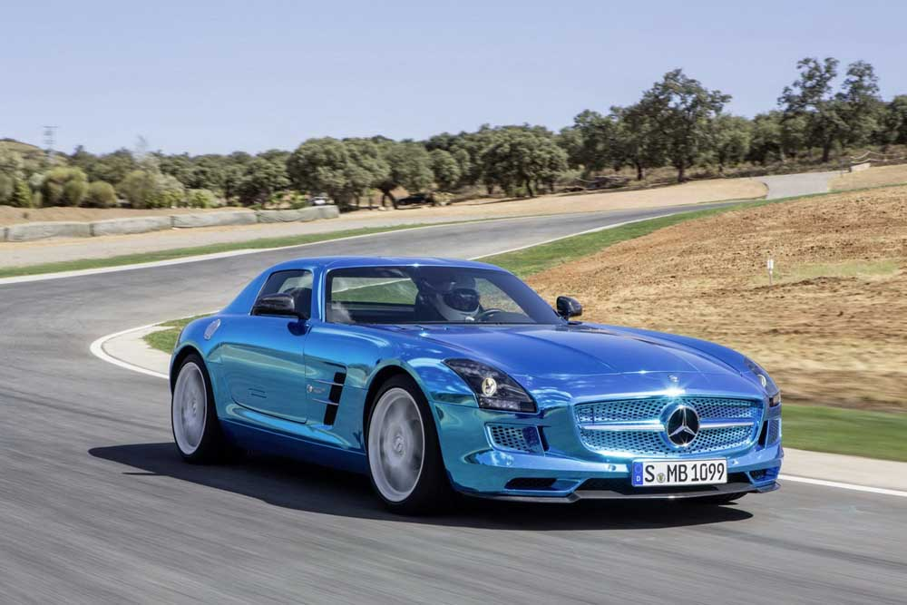 Photo of Mercedes-Benz, ηλεκτροκίνητη SLS με πόσο;